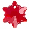 Swarovski Pendant 6748 Edelweiss 18mm Light Siam
